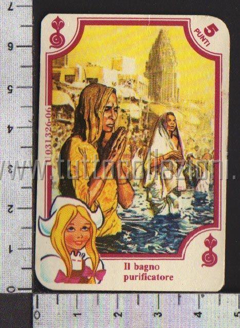 Collezionismo di figurine mira lanza - Bagno purificatore ...