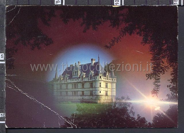 Postcards from 37 indre et loire collection of european - Code postal azay le rideau ...