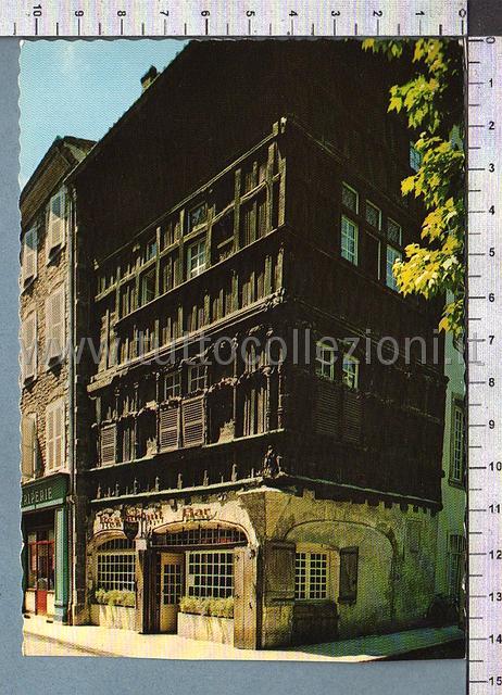Postcards from 71 saone et loire collection of european - La maison de bois macon ...