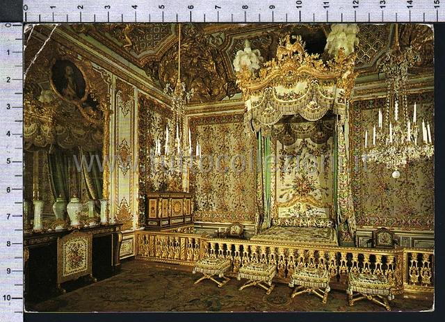 France cartoline postali europee european postcards for Chambre de la reine versailles