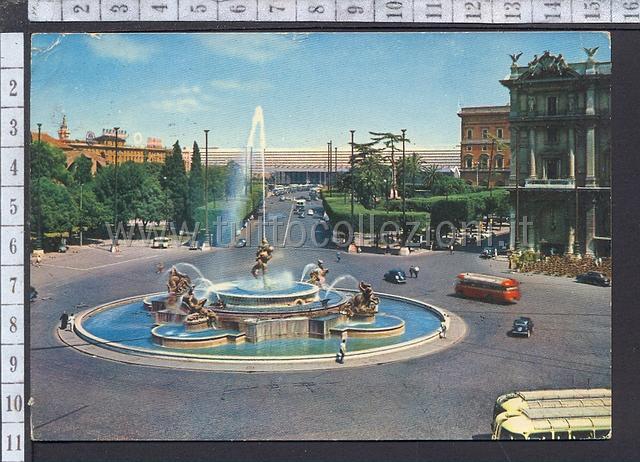 Piazza della repubblica esedra cartoline postali for Sito repubblica