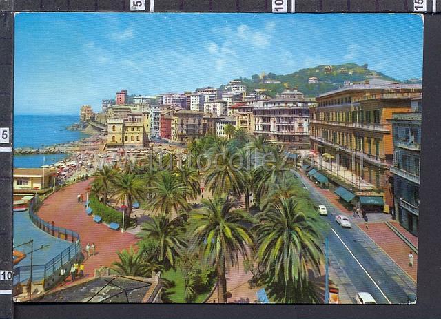 Pegli cartoline postali il sito per for Lungomare genova