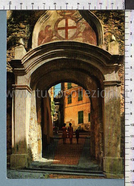 Bordighera cartoline postali il sito - La vecchia porta ...