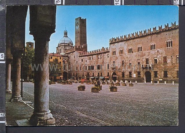 Mantova cartoline postali il sito per for Piazza sordello