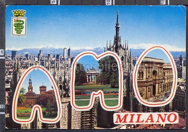 Greetings from Milan Lombardy Collection of postcards ...