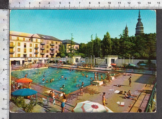Novara cartoline postali il sito per - Piscina lamarmora ...