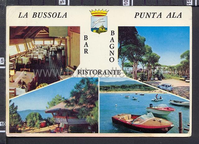 Punta ala cartoline postali il sito per collezionisti - Bagno la bussola ...