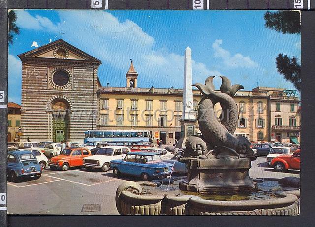 Prato cartoline postali il sito per for Piazza san francesco prato