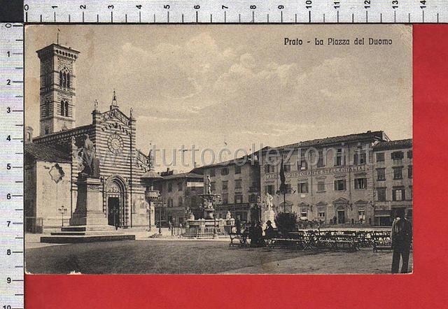 Prato cartoline postali il sito per for Piazza duomo prato