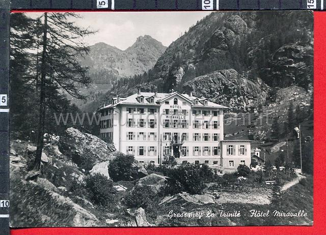 Gressoney cartoline postali il sito for Design hotel valle d aosta