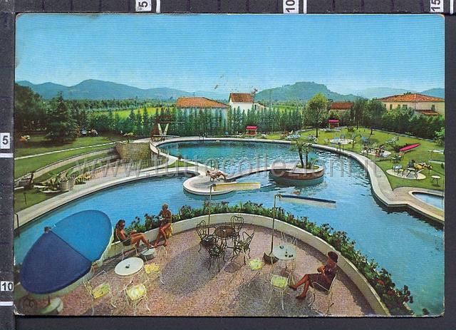 Abano terme cartoline postali collezionismo di cartofilia - Hotel mioni pezzato ingresso piscina ...