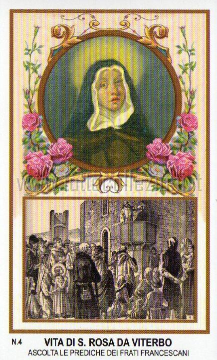 La vita di santa rosa da viterbo - La rosa racconta la vita dei divi ...