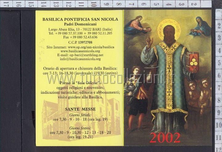 San Nicola Calendario.San Nicola Di Bari Iconografie Tuttocollezioni It